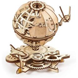 UGEARS Globe Mechanical Wooden Model Kit 70128