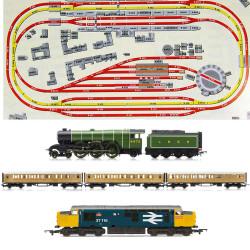 HORNBY Digital Train Set HL5 Huge Jadlam Layout with 2 Trains