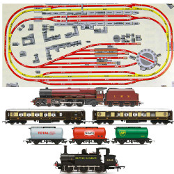 HORNBY Digital Train Set HL5 Huge Jadlam Layout with 2 Trains