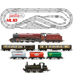 HORNBY Digital Train Set HL10 Large Layout - Multi Track with 2 Trains