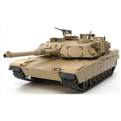 TAMIYA RC 56041 M1A2 Abrams Main Battle Tank with full option kit 1:16