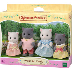 SYLVANIAN Families Persian Cat Family Figures 5455