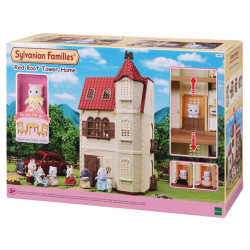 SYLVANIAN Families Red Roof Tower Home Gift Set 5400
