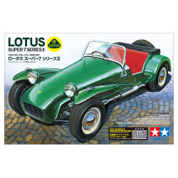 Tamiya 24357 Lotus Super 7 Series 2 1:24 Plastic Model Car Kit