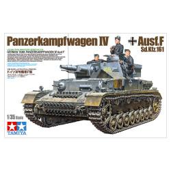 Tamiya 35374 German Panzerkampfwagen IV Ausf F 1:35 Plastic Model Tank Kit