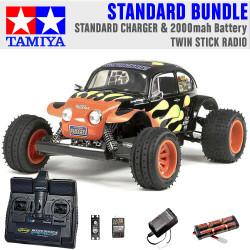 TAMIYA RC 58502 Blitzer Beetle 1:10 Standard Stick Radio Bundle