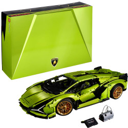 LEGO Technic 42115 Lamborghini Sian FKP Age 18+ 3696pcs
