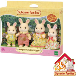 SYLVANIAN Families Marguertie Rabbit Family Limited Edition 5507