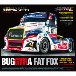 TAMIYA RC 58661 Buggyra Fat Fox Racing Truck TT-01E 1:14 RC Assembly Kit