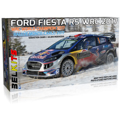 BELKITS Ford Fiesta WRC 2017 'Red Bull' Car Model Kit 1:24 BEL012