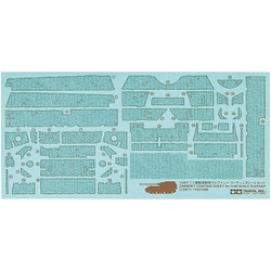 TAMIYA 12671 Elefant Zimmerit coating sheet 1:48 Military Model Kit