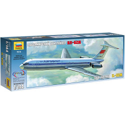 ZVEZDA 7013 Ilyushin Il-62M 1:144 Aircraft Model Kit.