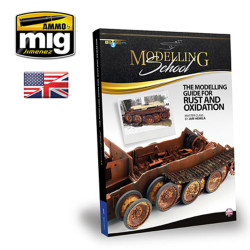 Ammo by Mig Modelling Guide For Rust And Oxidation For Model Kits Mig 6098