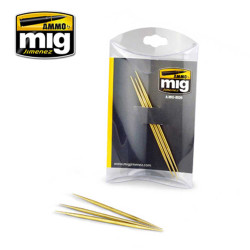 Ammo by Mig Brass Toothpicks For Model Kits Mig 8026