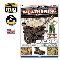 Ammo by Mig Engine Grease & Oil Guide Book For Model Kits Mig 4503