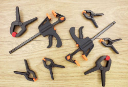 Expo Tools 71020 8 Piece Modellers Ultimate Clamp Set