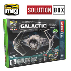 Ammo by Mig Imperial Galactic Fighters Solution Box For Model Kits Mig 7720