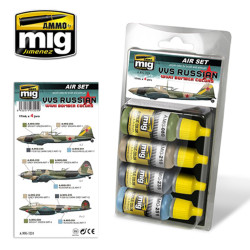 Ammo by Mig Vvs WWII Russian Bomber Colours For Model Kits Mig 7224