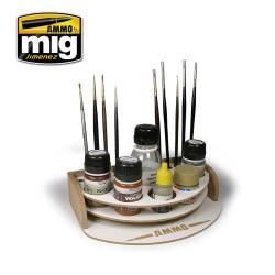 Ammo by Mig Mini Workbench Organiser For Model Kits Mig 8002
