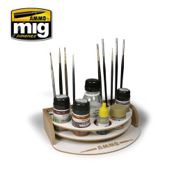 Ammo by Mig Mini Workbench Organiser For Model Kits Mig 8002