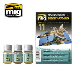 Ammo by Mig Desert Airplanes For Model Kits Mig 7424