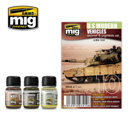 Ammo by Mig Us Modern Vehicles Set For Model Kits Mig 7410