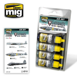 Ammo by Mig Luftwaffe Mid War For Model Kits Mig 7220