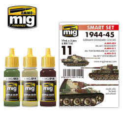 Ammo by Mig German 1944-45 Standard Colours Acrylic Paint Mig 7141