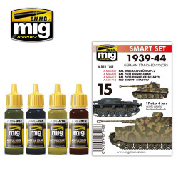 Ammo by Mig German 1939-44 Standard Colours Acrylic Paint Mig 7148