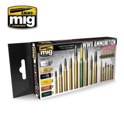 Ammo by Mig Ammunition Colours Acrylic Paint Set For Model Kits Mig 7124
