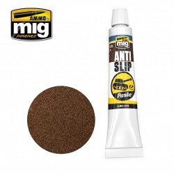 Ammo by Mig Anti Slip Paste Brown For Model Kits Mig 2035