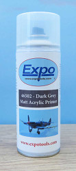 Expo Tools 46502 Dark Grey 400ml Expo Acrylic Model Primer