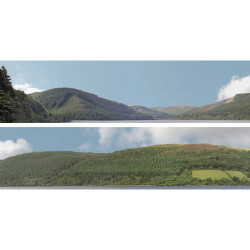 Art Printers Forest Hills OO Gauge 15in High 10ft Long High Backscene 201A