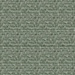 Art Printers Building Material OO Gauge Green Roof Tiles BM061