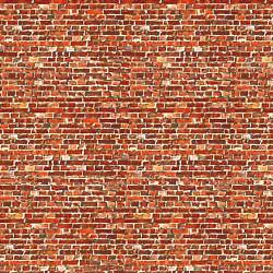 Art Printers Building Material OO Gauge Dark Old Red Brick BM008C