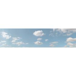 Art Printers Summer Sky OO Gauge 15in High 10ft Long High Backscene 501B