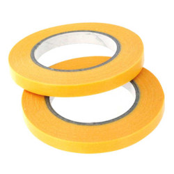 Expo Tools 44502 Precision Masking Tape 2mm x 18 Metres Pack Of 2 Rolls