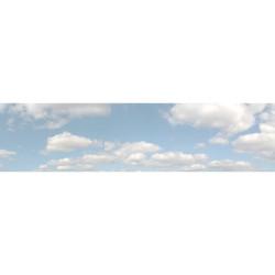 Art Printers Summer Sky OO Gauge 15in High 10ft Long High Backscene 501A