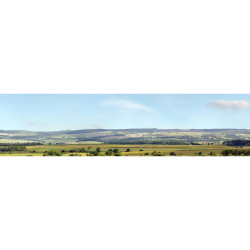 Art Printers Hills & Dales OO Gauge 15in High 10ft Long High Backscene 207B