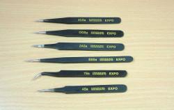 Expo Tools 79032 Expo Professional Tweezer Set