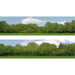"Art Printers OO Gauge 15"" High Trees Backscene 149A"