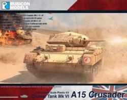 Rubicon Models 280025 A15 Crusader 1:56 Plastic Model Kit