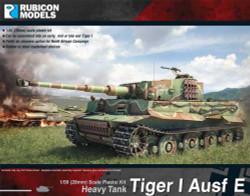 Rubicon Models 280016 Tiger I Ausf E 1:56 Plastic Model Kit