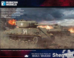 Rubicon Models 280042 M4A3 / M4A3E8 Sherman 1:56 Plastic Model Kit