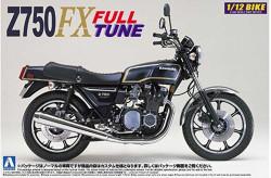 Aoshima 04216 Kawasaki Z750Fx (Full-Tune) 1:12 Plastic Model Bike Kit
