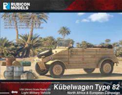 Rubicon Models 280072 Ku?Belwagen Type 82 1:56 Plastic Model Kit
