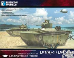 Rubicon Models 280066 Lvt(A)-1 / Lvt(A)-4 Amtank 1:56 Plastic Model Kit