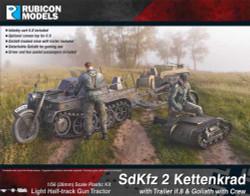 Rubicon Models 280071 Sdkfz 2 Kettenkrad 1:56 Plastic Model Kit