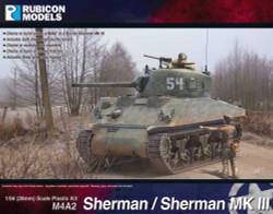 Rubicon Models 280055 M4A2 Sherman / Sherman Iii 1:56 Plastic Model Kit