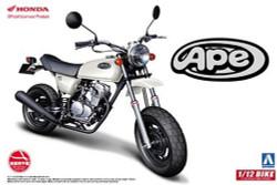 Aoshima 05170 Honda Ape50 1:12 Plastic Model Bike Kit